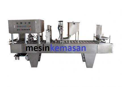 mesin cup sealer untuk tutup plastik alumunium foil