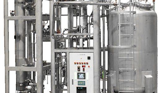 Mesin Air Demineral Distilasi